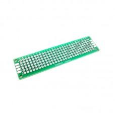 PCB Lubang Dua Layer 2 x 8
