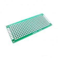 PCB Lubang Dua Layer 3 x 7
