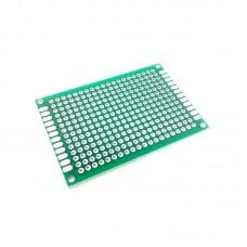 PCB Lubang Dua Layer 4 x 6