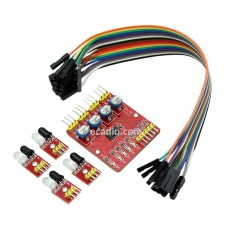 Modul Sensor IR Obstacle Avoidance 4 Channel