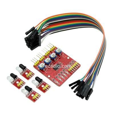 Modul Sensor IR Obstacle Avoidance 4 Channel
